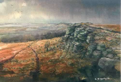Kristan Baggaley Limited Edition Prints Of Peak District